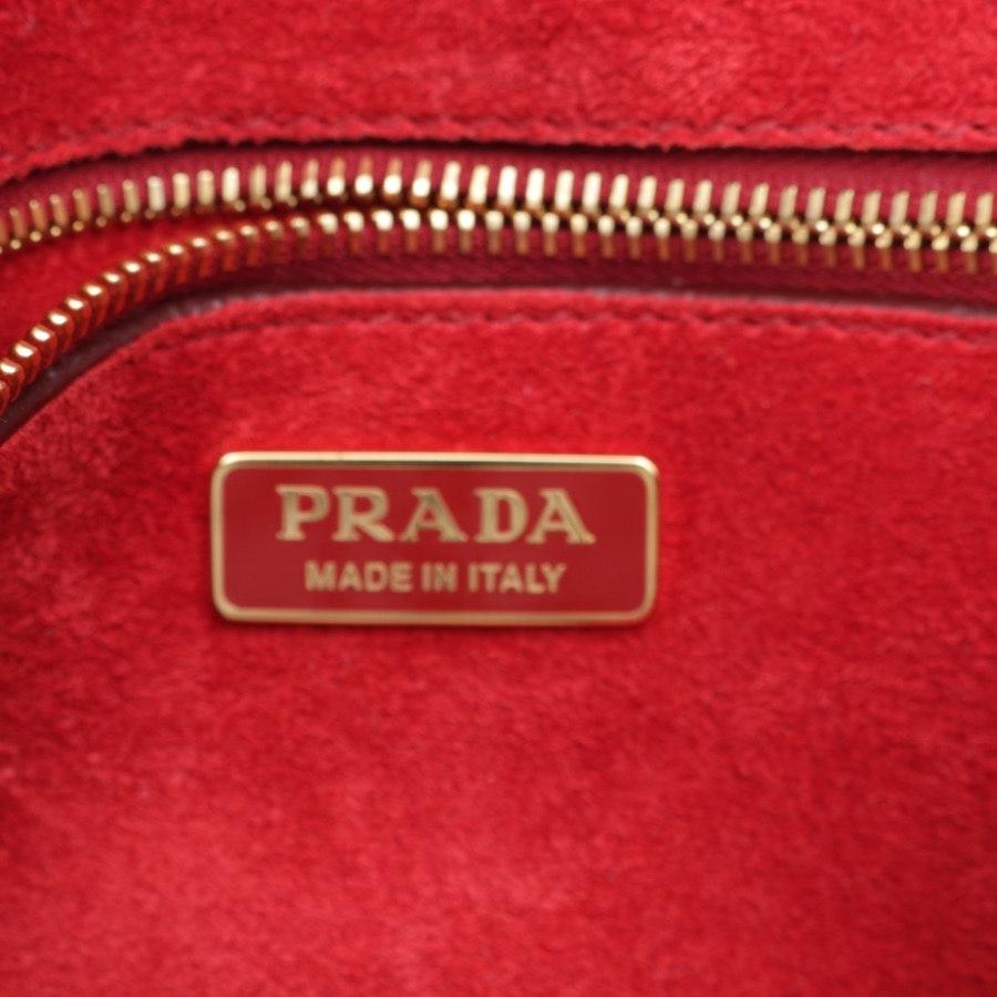 Schultertasche von Prada in Dunkelblau