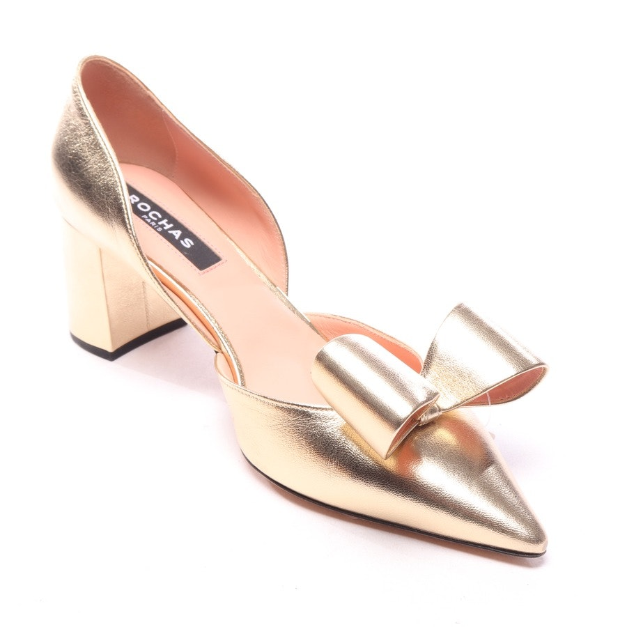pumps from Rochas in gold size EUR 37,5 - new