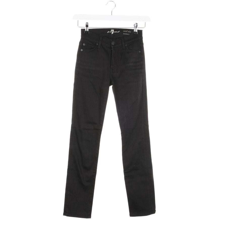 Jeans von 7 for all mankind in Schwarz Gr. W24 - Mid Rise Roxanne