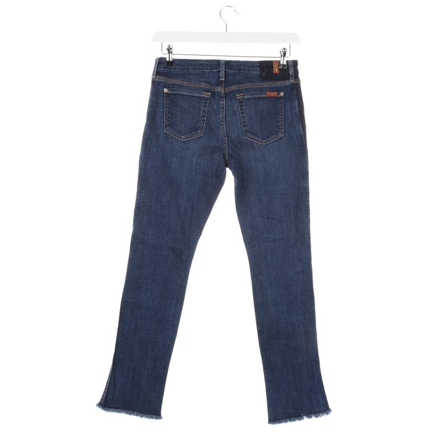 Jeans von 7 for all mankind in Blau Gr. W26
