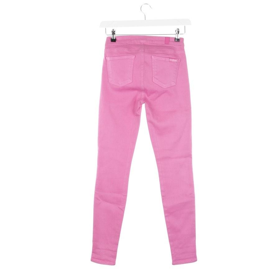 Jeans von 7 for all mankind x Giambatista Valli in Pink Gr. W26