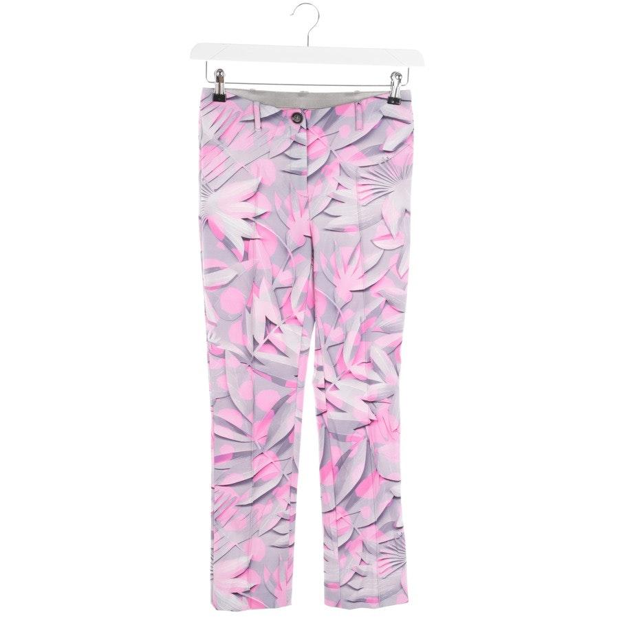 Leggings von Marc Cain in Pink und Grau Gr. 34 N1