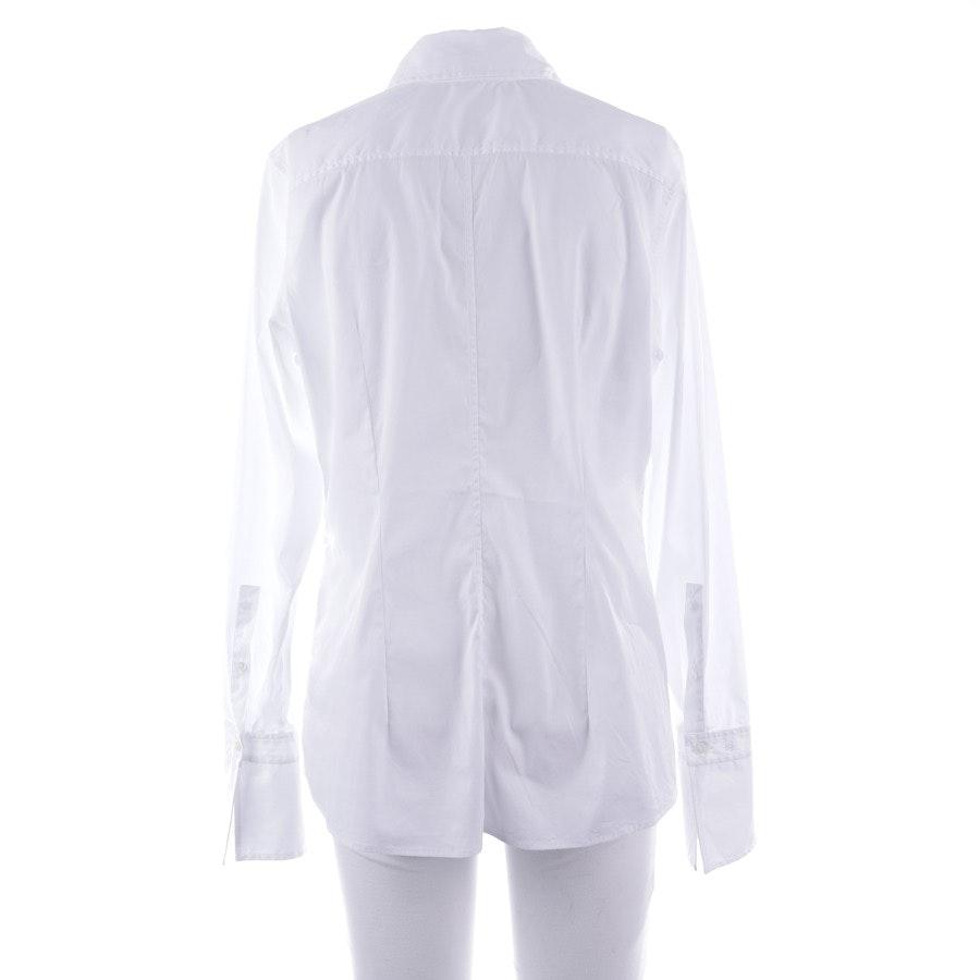 Bluse von Van Laack in Weiß Gr. 40