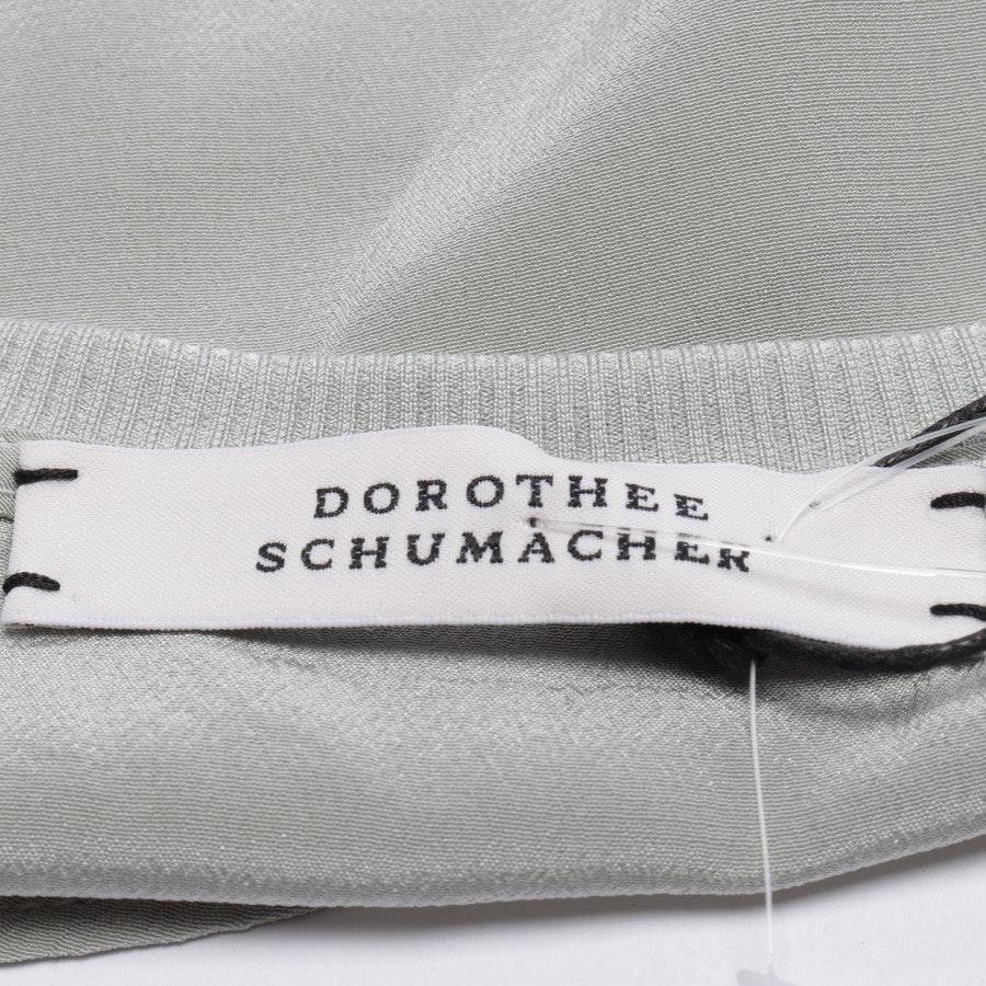 Seidentop von Dorothee Schumacher in Graugrün Gr. 36 / 2 - Neu