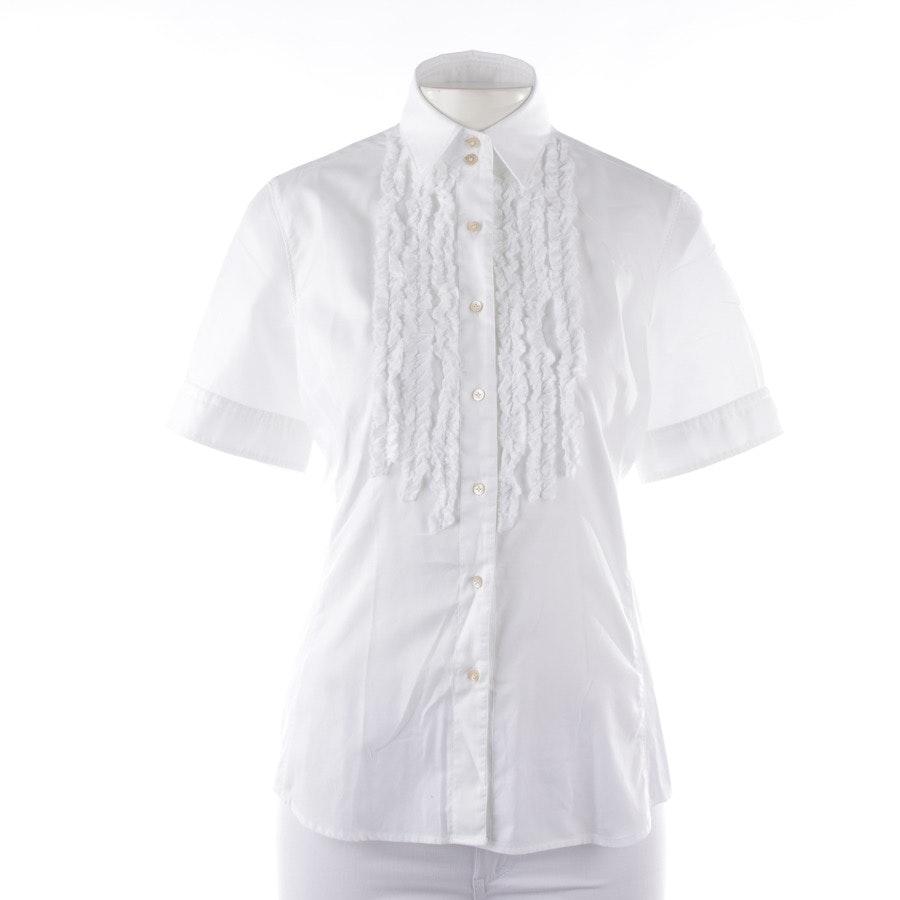 Bluse von Caliban in Weiß Gr. 36 IT 42