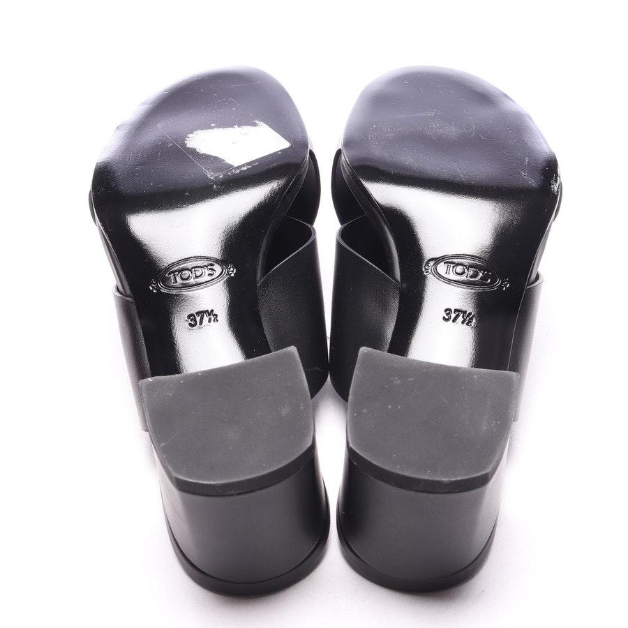 Sandaletten von Tod´s in Schwarz Gr. EUR 37,5 - Neu