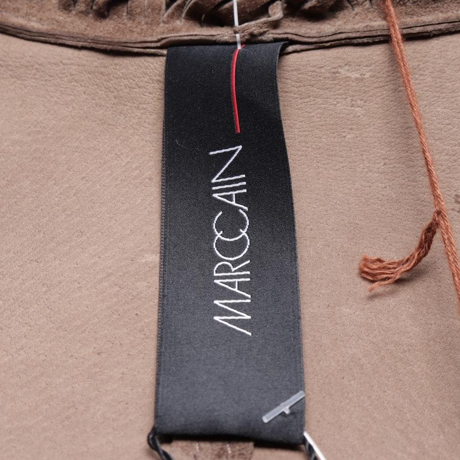 Lederjacke von Marc Cain in Braun Gr. 36 N2 - Neu