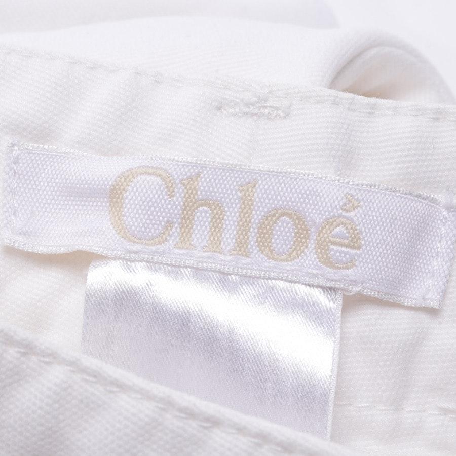 Jeans von Chloé in Offwhite Gr. 36 FR 38