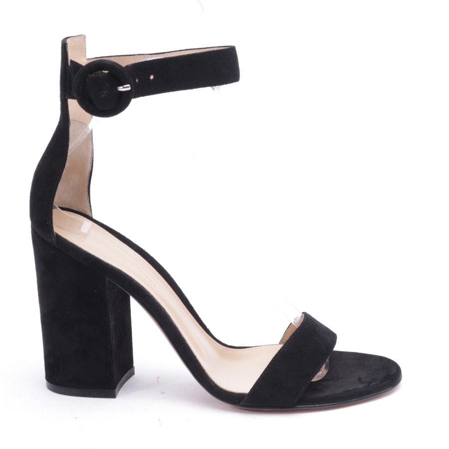Sandaletten von Gianvito Rossi in Schwarz Gr. EUR 38,5 - Neu