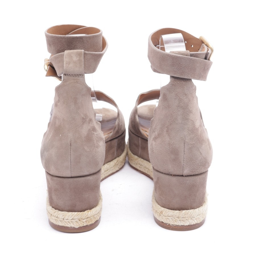 heeled sandals from Chloé in beige brown size EUR 40 - new