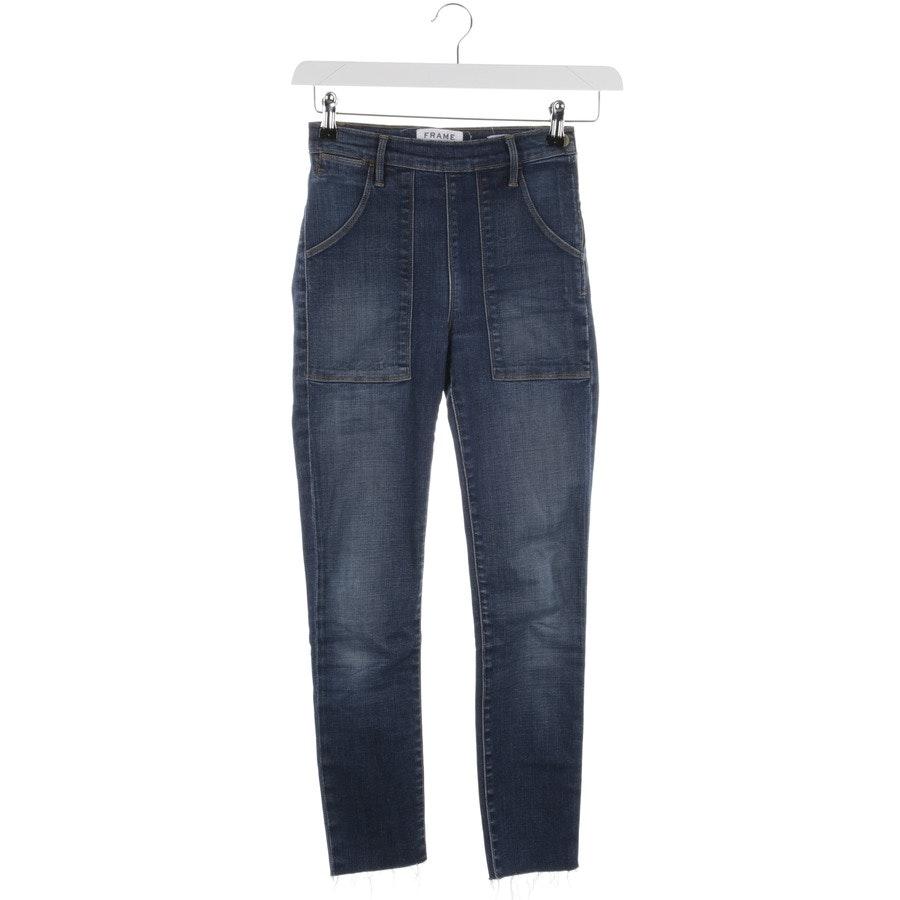 Jeans von Frame in Dunkelblau Gr. W24
