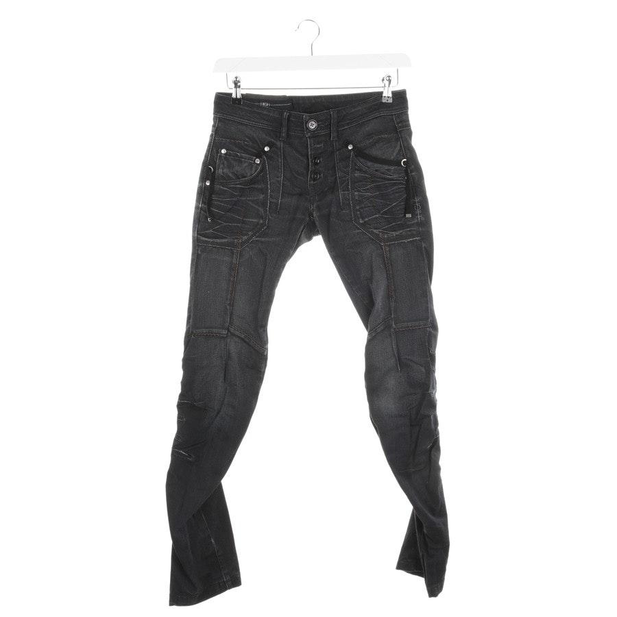Jeans von High Use in Schwarz meliert Gr. 36