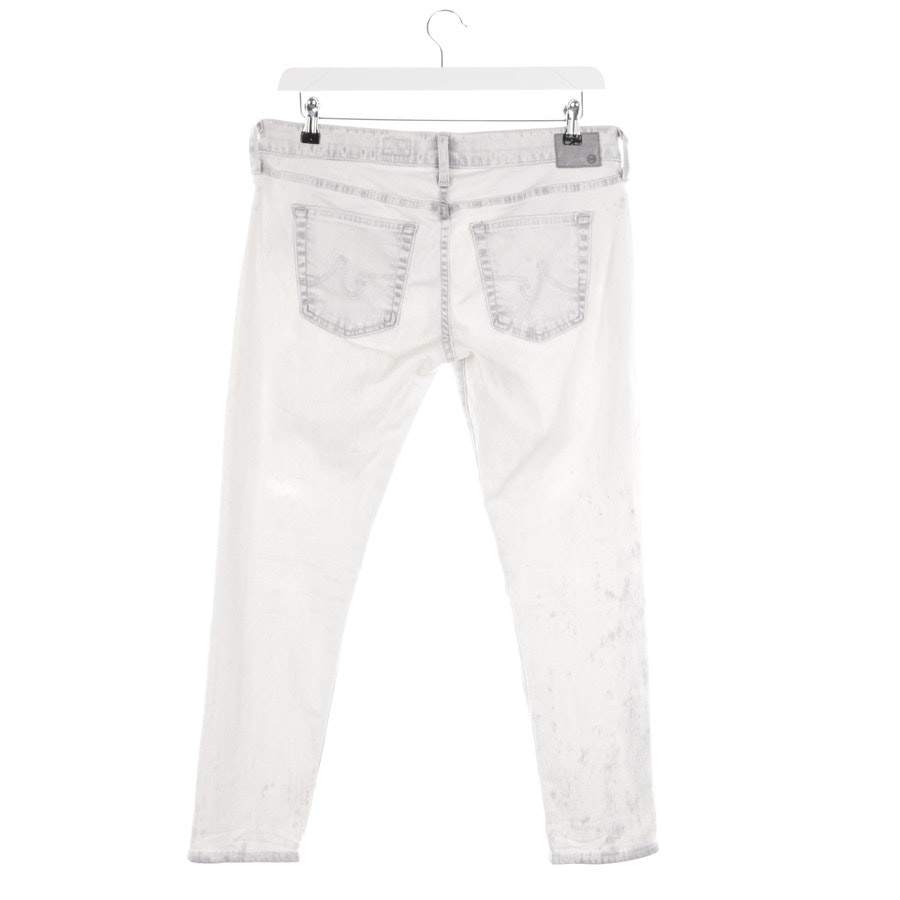 jeans from AG Jeans in cream-white and grey size W28 - the nikki crop