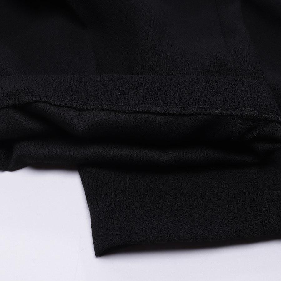 Bundfaltenhose von Elisabetta Franchi in Schwarz Gr. 42 IT 48 - NEU mit Etikett