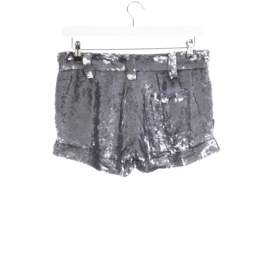 Shorts von Patrizia Pepe in Graublau Gr. 38 IT 44 - Neu