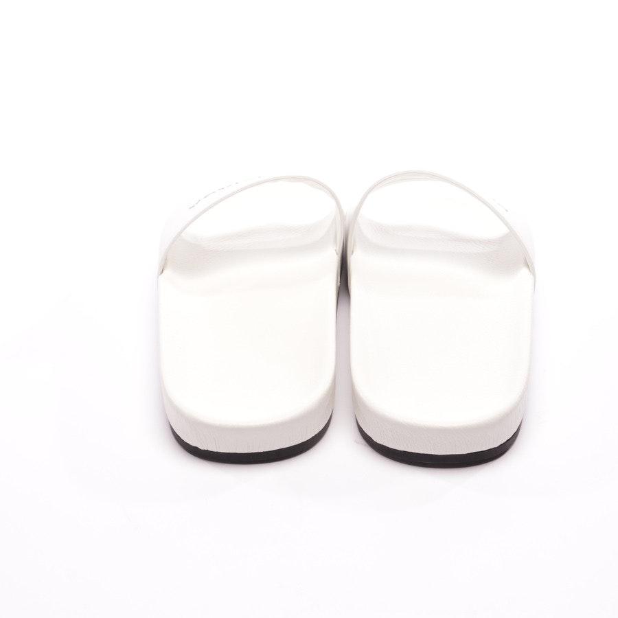 Pantoletten von Balenciaga in Weiß Gr. EUR 40 - Neu