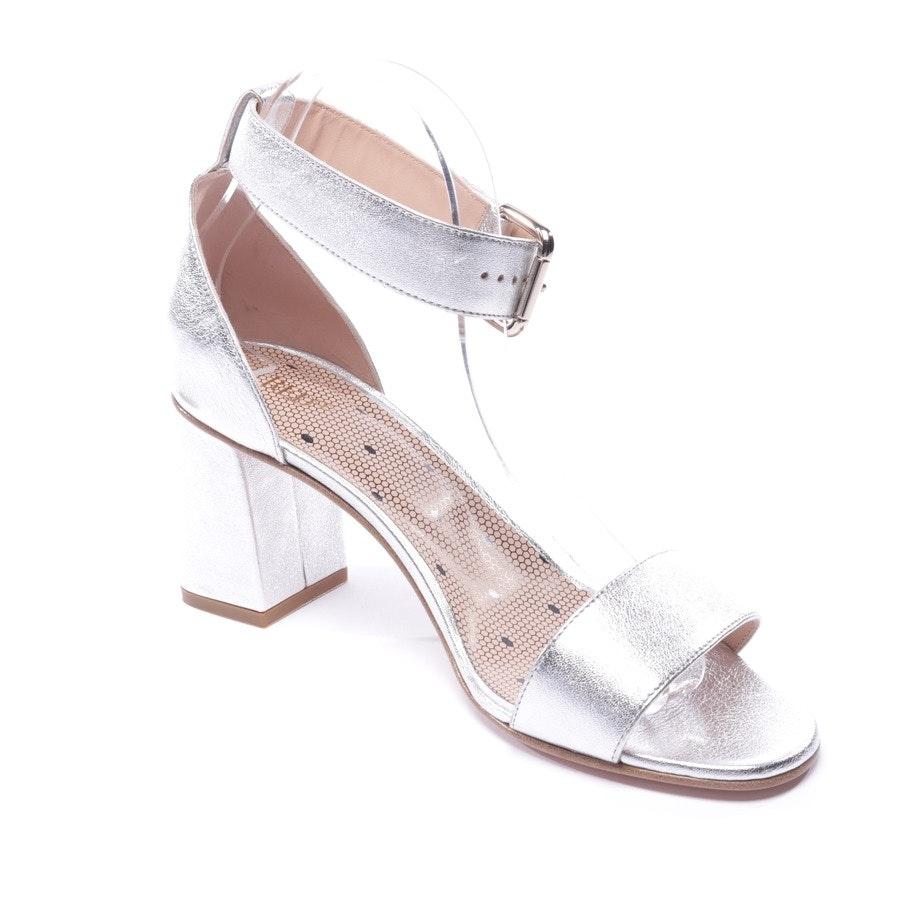Sandaletten von Red Valentino in Silber Gr. EUR 39,5 - Neu