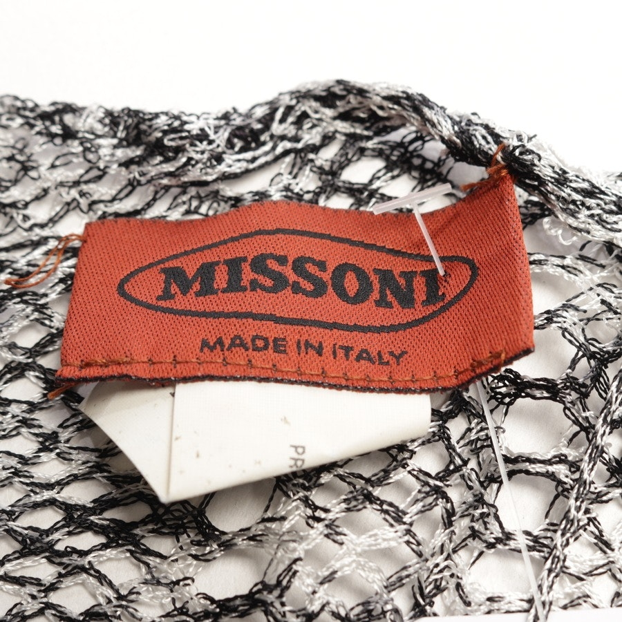 scarf from Missoni in white and black