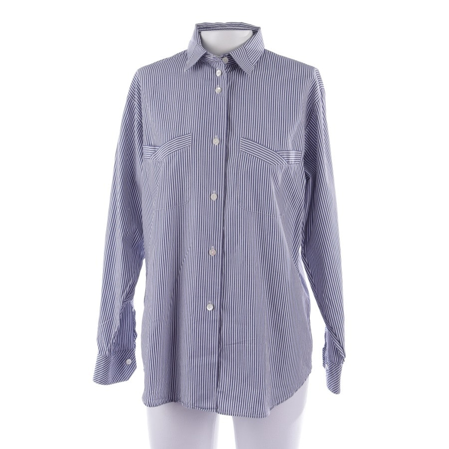 Bluse von Van Laack in Blau Gr. 34