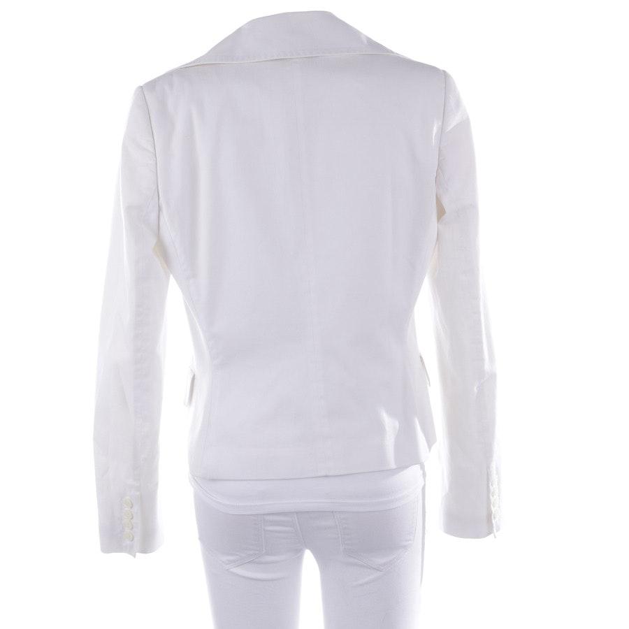 Blazer von Dolce & Gabbana in Weiß Gr. 38 IT 44