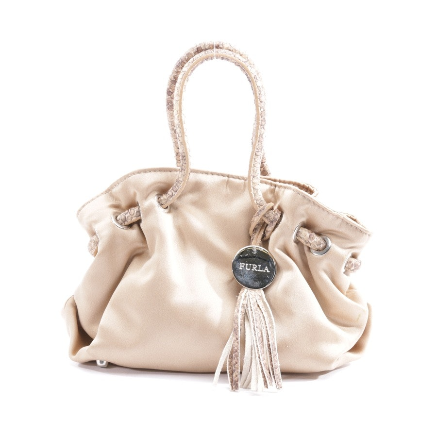 non-leather bags from Furla in beige