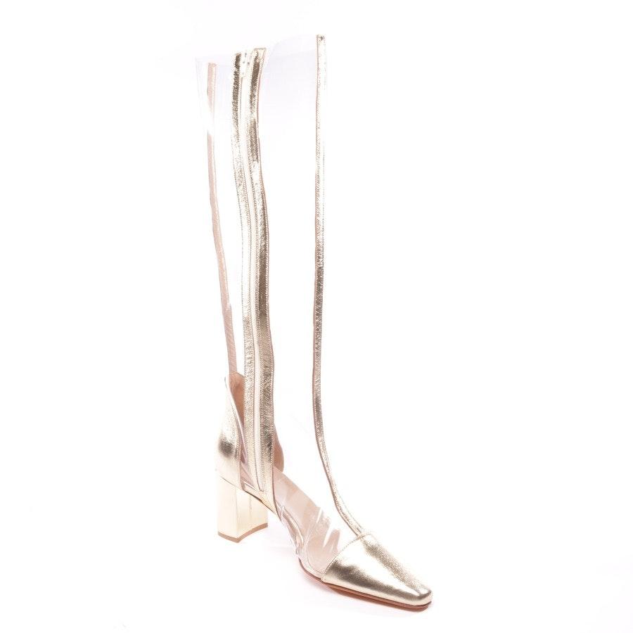 Stiefel von Maryam Nassir Zadeh in Transparent und Gold Gr. EUR 39 - Jupiter Boot - Neu