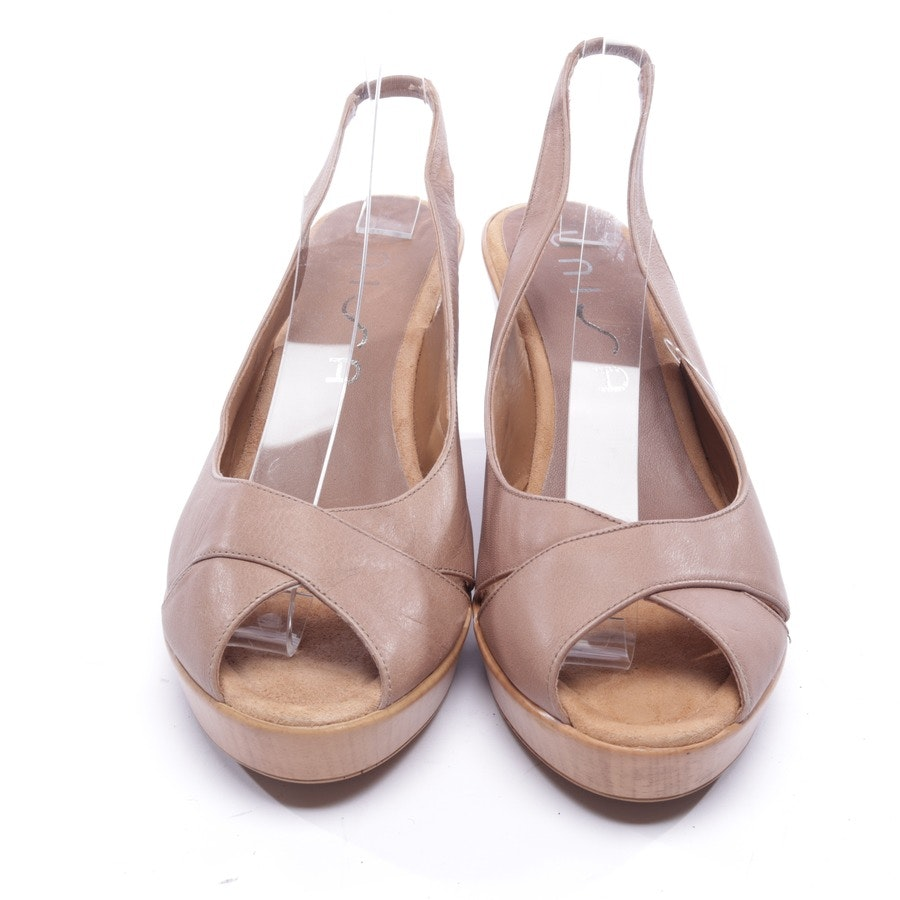 heeled sandals from Unisa in beige size EUR 41