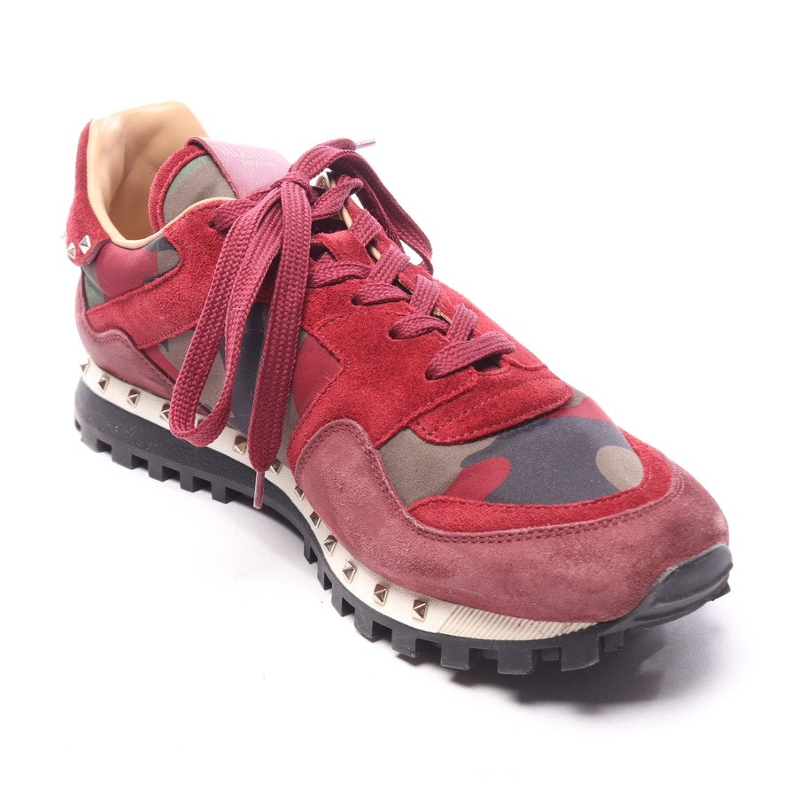 trainers from Valentino in camouflage and red size EUR 41 - rockstud