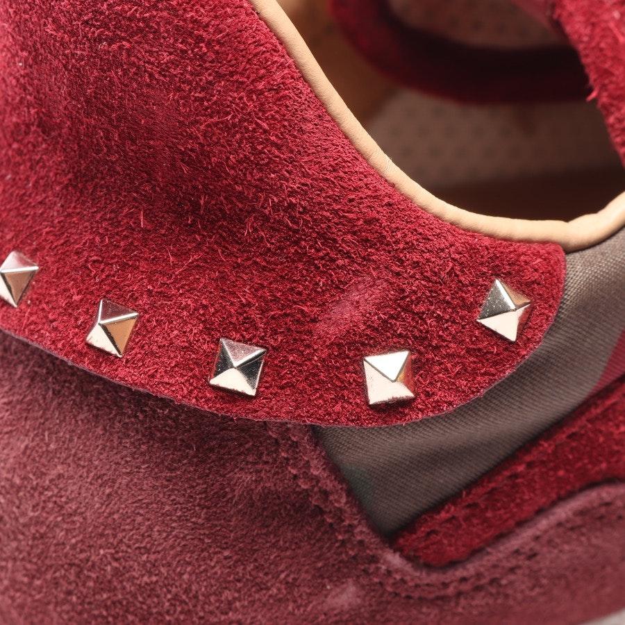 Sneaker von Valentino in Camouflage und Rot Gr. EUR 41 - Rockstud