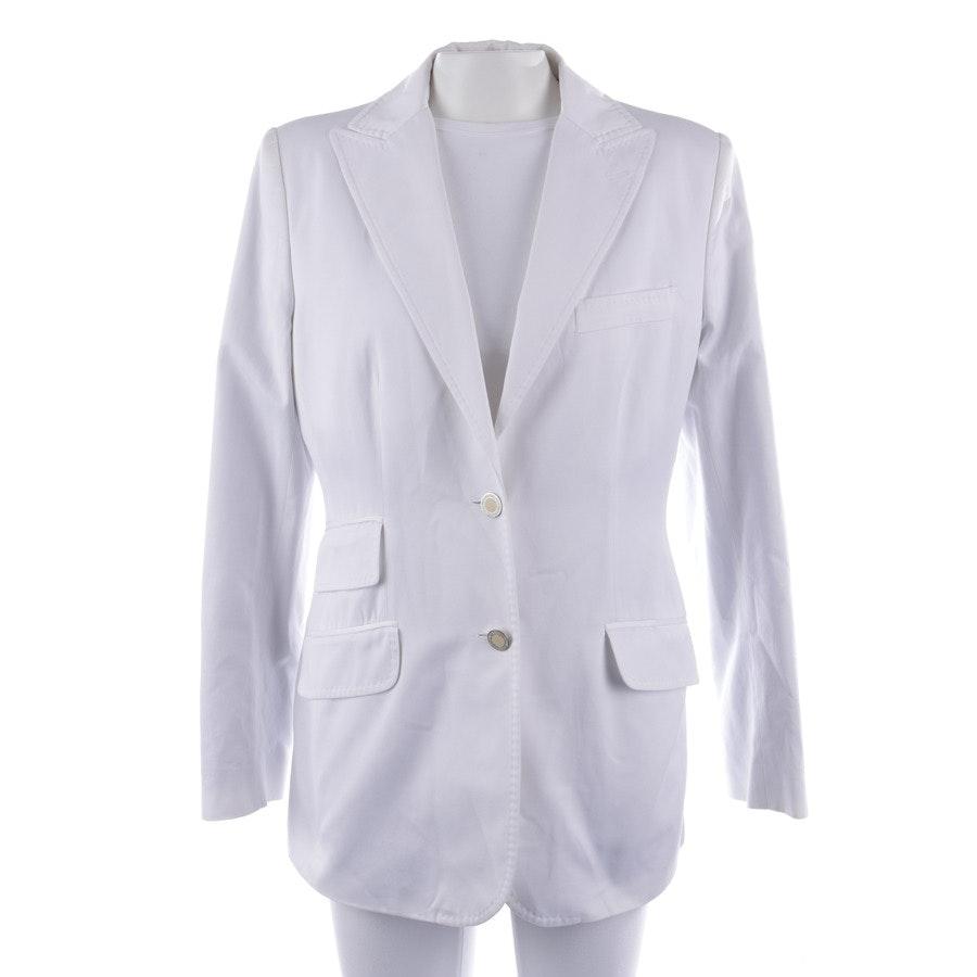 Blazer von Dolce & Gabbana in Weiß Gr. 40 IT 46