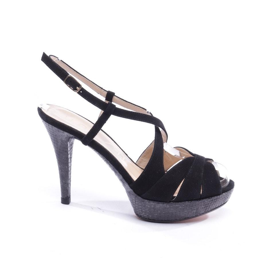 Sandaletten von Unisa in Schwarz Gr. EUR 37