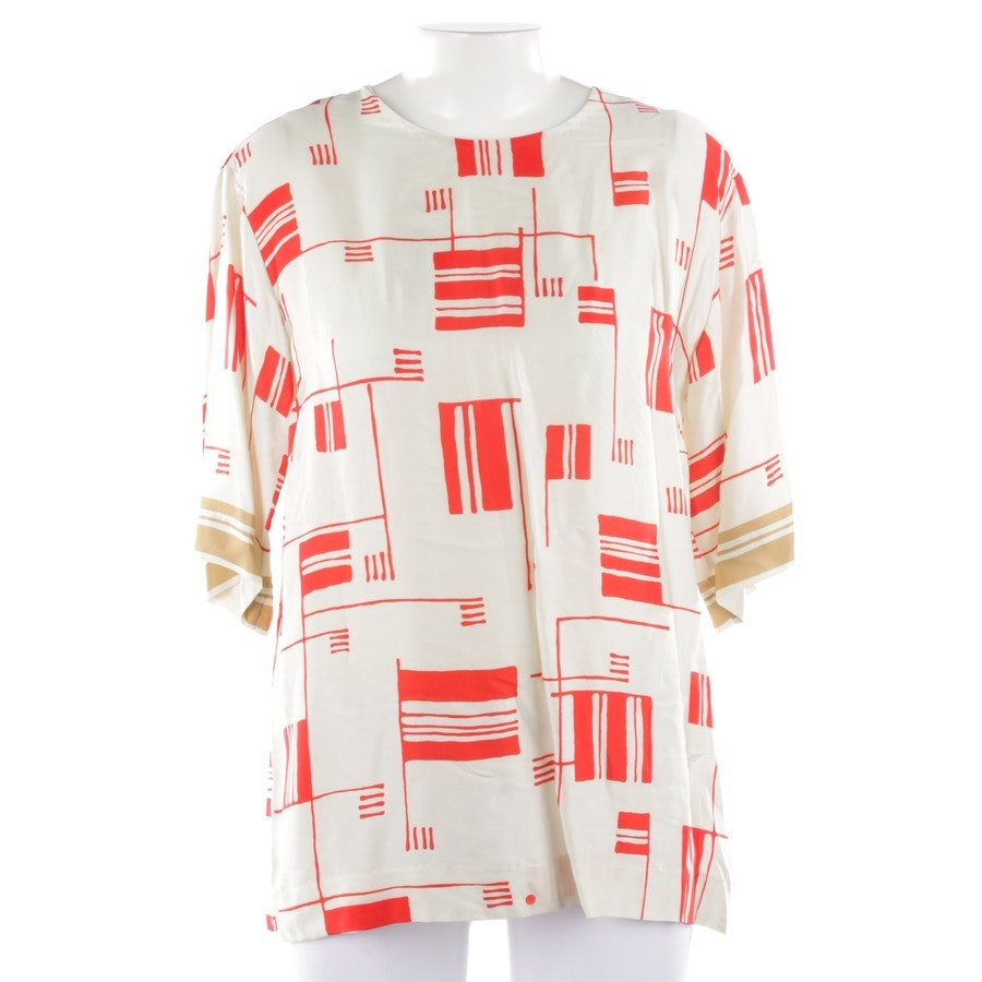 blouses & tunics from Dries van Noten in offwhite and red size 38 FR 40 - new