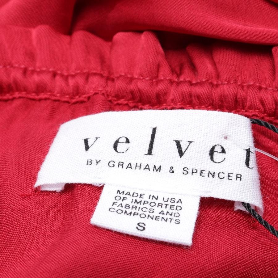 Bluse von Velvet by Graham and Spencer in Rot Gr. S - Neu