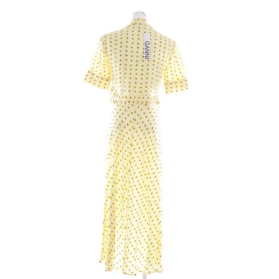 Wickelkleid von Ganni in Weiß und Multicolor Gr. 32 FR 34 - Neu