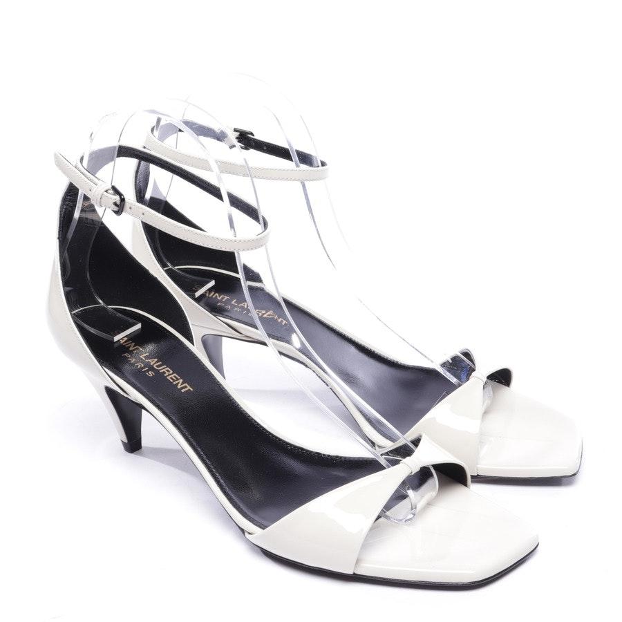 Sandaletten von Saint Laurent in Creme Gr. EUR 38,5 - Neu