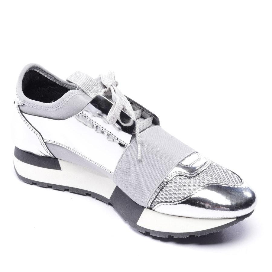 Sneaker von Balenciaga in Silber und Grau Gr. EUR 36