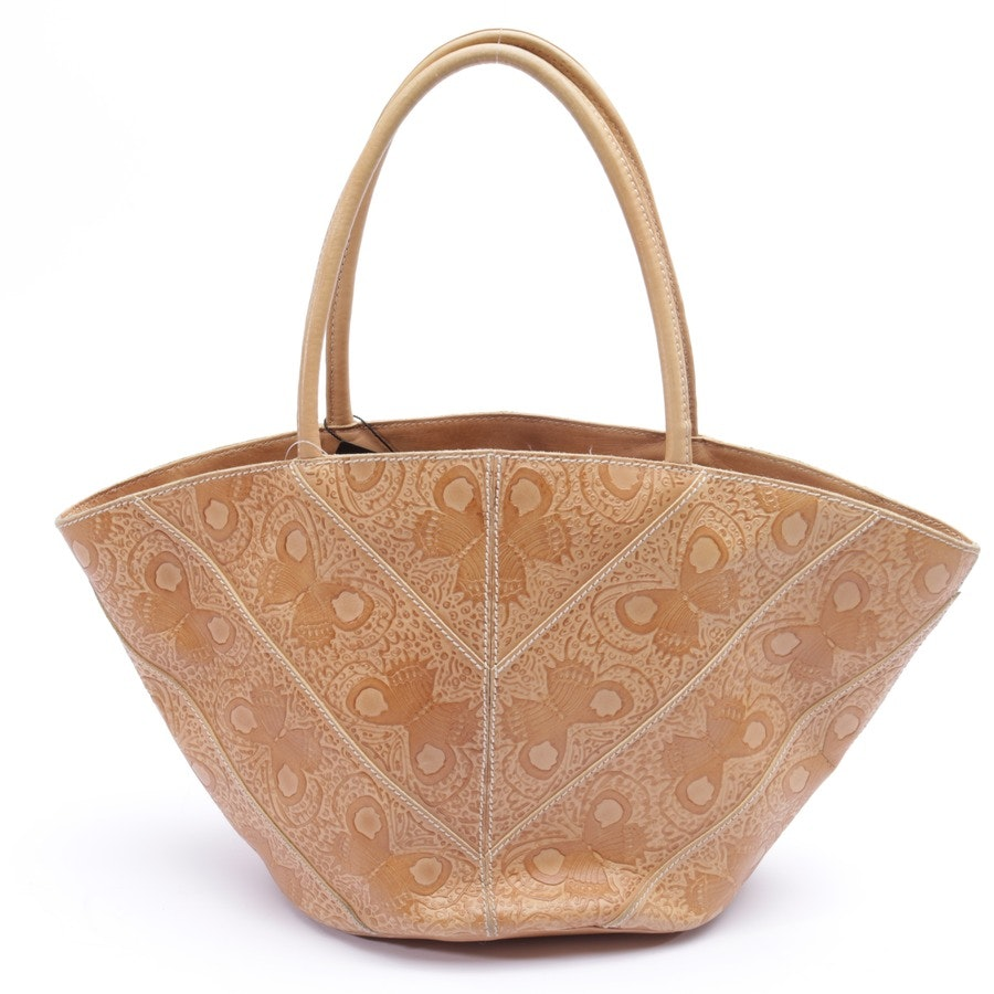 handbag from Bottega Veneta in beige