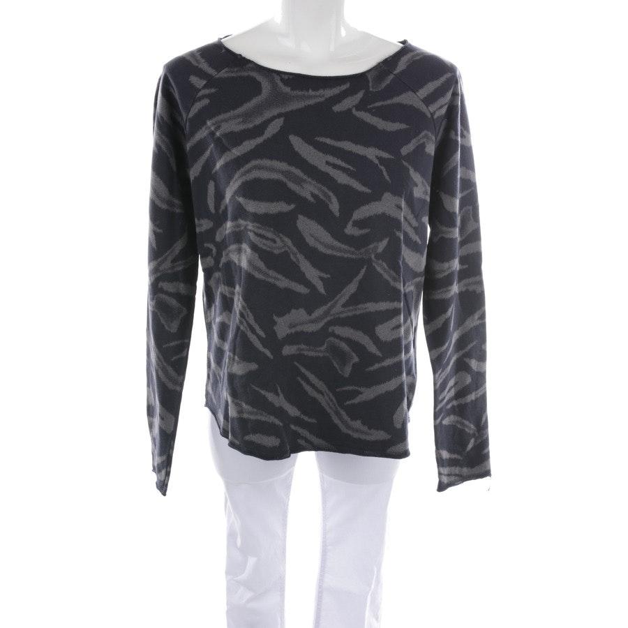 sweatshirt from Juvia in dark blue and grey size S