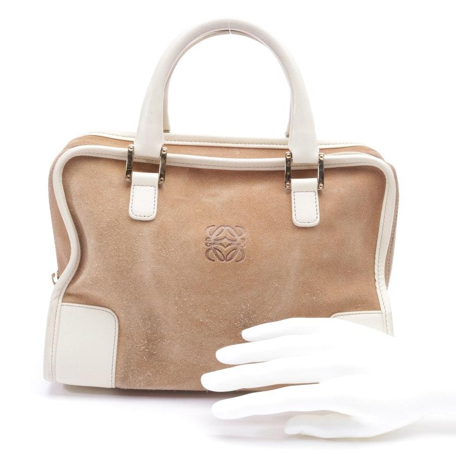 Handtasche von Loewe in Braun und Beige
