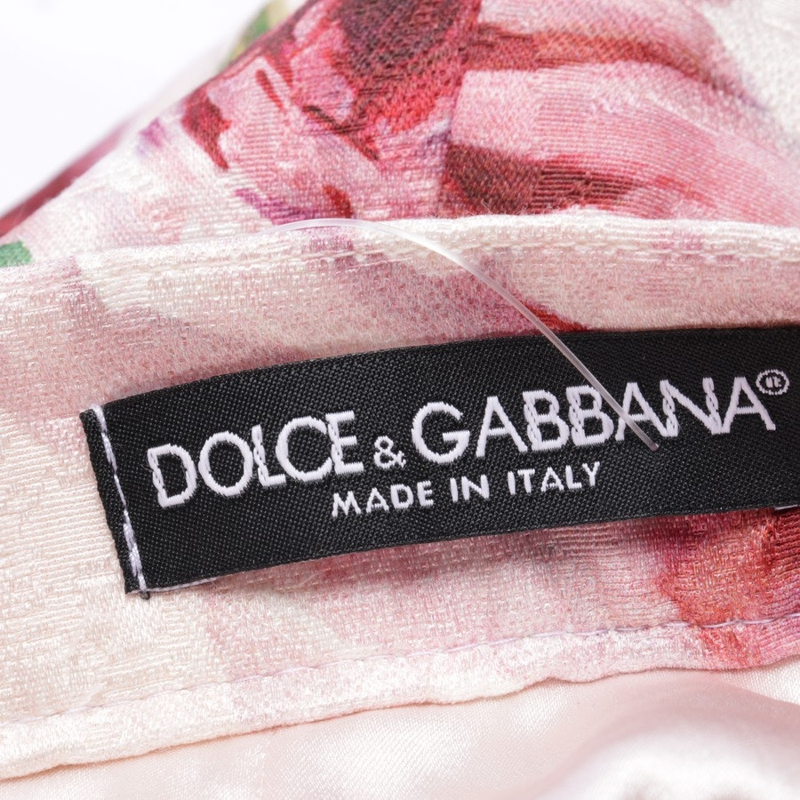Rock von Dolce & Gabbana in Zartrosa Gr. 40 IT 46