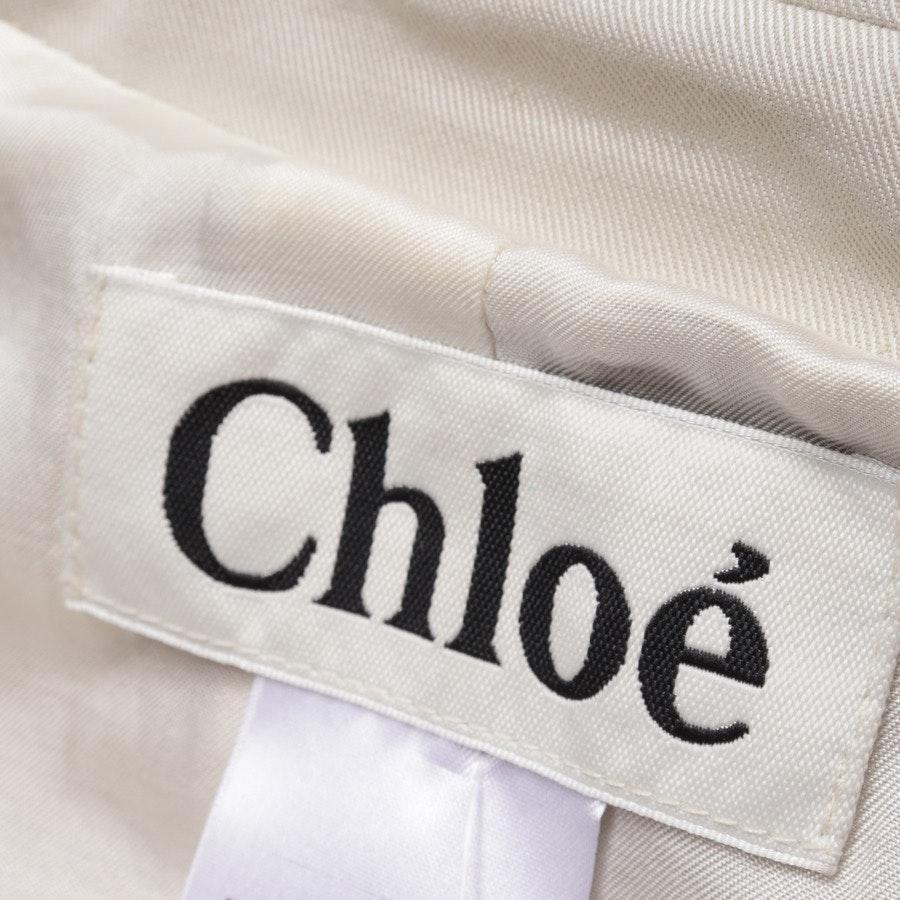 Sommerjacke von Chloé in Ecru Gr. 38 FR 40