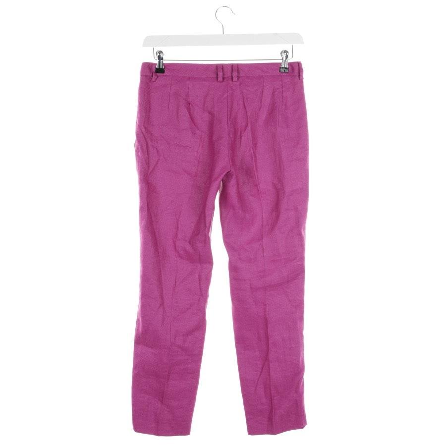 Hose von Versace in Violett Gr. 36