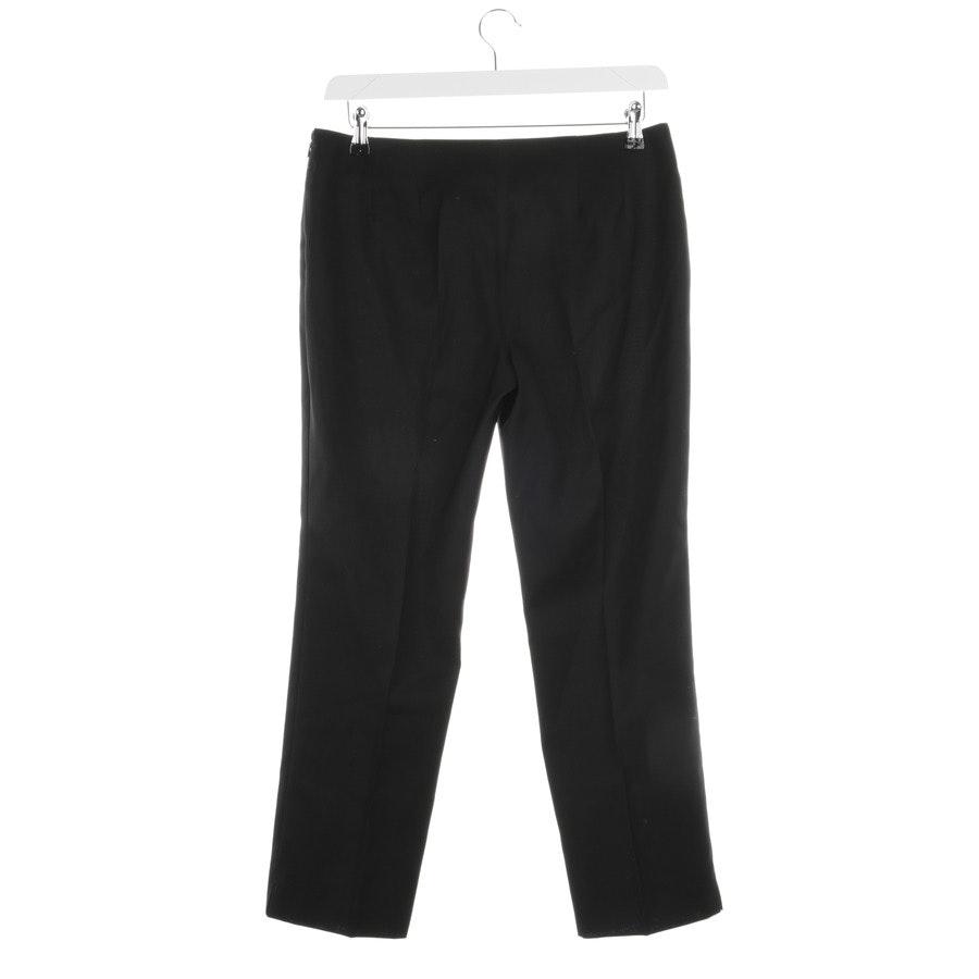 trousers from Jil Sander in black size 38