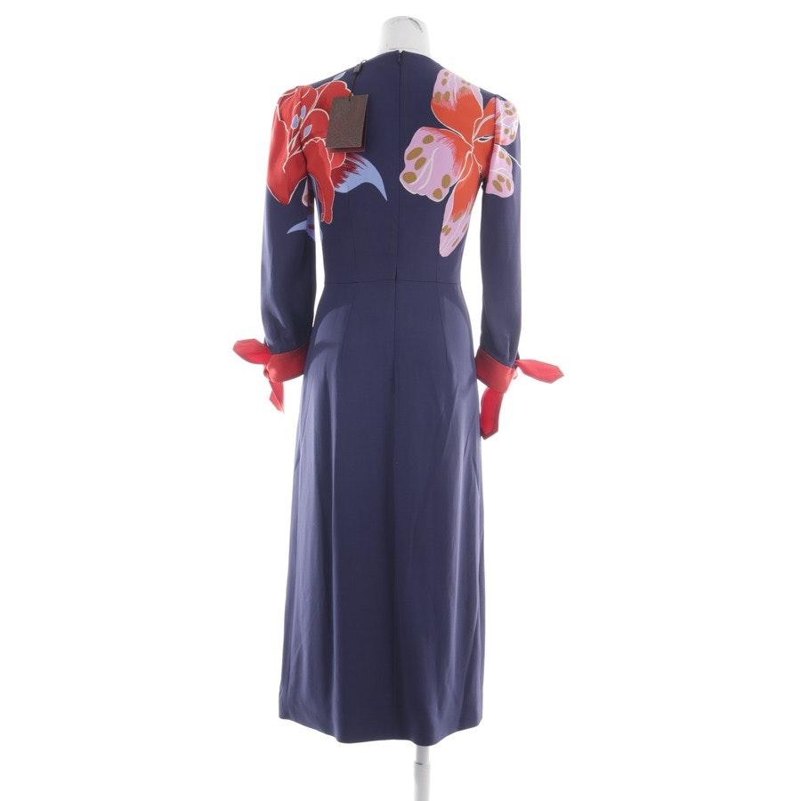 Kleid von Etro in Marineblau und Multicolor Gr. 34 IT 44 - Neu
