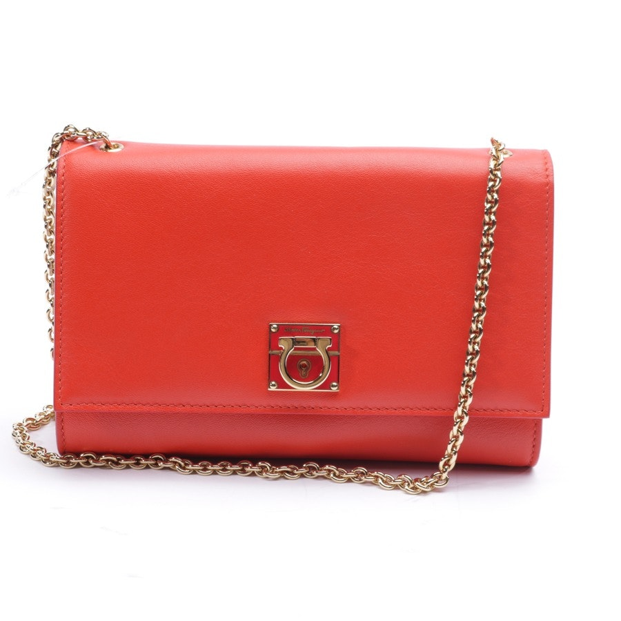 evening bags from Salvatore Ferragamo in red