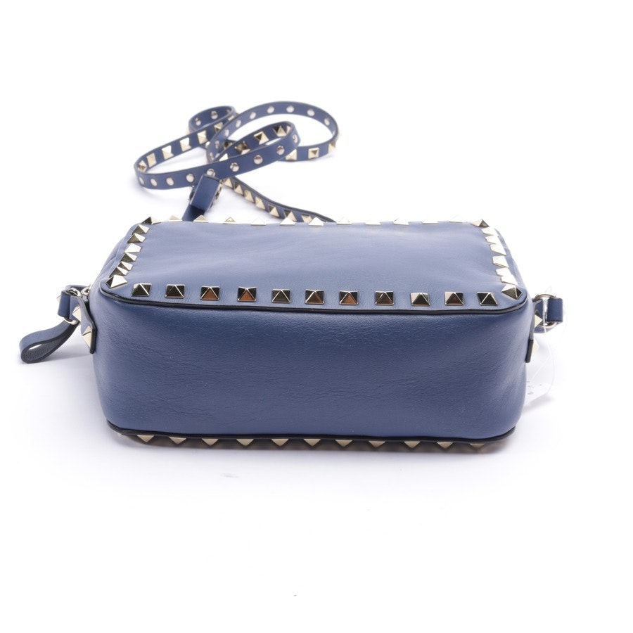 evening bags from Valentino in blue - rockstud