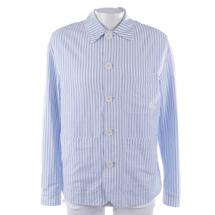 casual shirt from Burberry Prorsum in blue and white size 52 - new