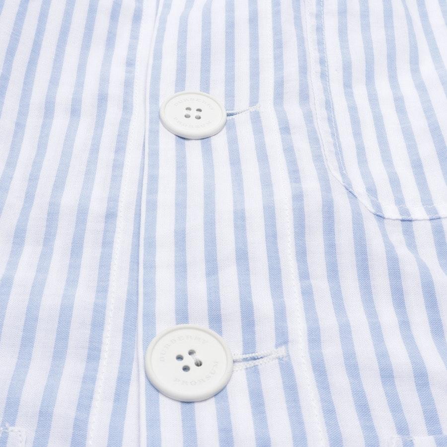 Freizeithemd von Burberry Prorsum in Blau und Weiß Gr. 52 - Neu