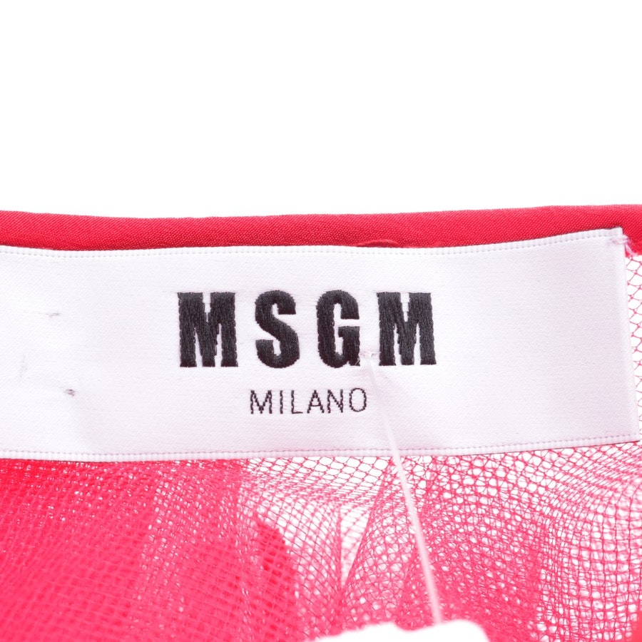 dress from MSGM in red size 34 IT 40 - new