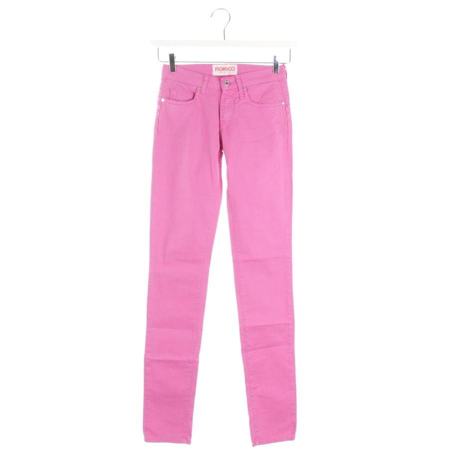 Jeans von Fiorucci in Magenta Gr. W24 - Neu
